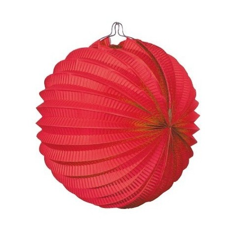 Lantern hanging decoration for festivals red.