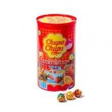 Bote de Chupa chups caramelos con palo 100 unidades.