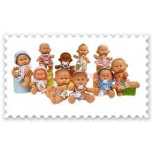 Muñecas perfumadas de bebé niña hechas en España 1 unidad.