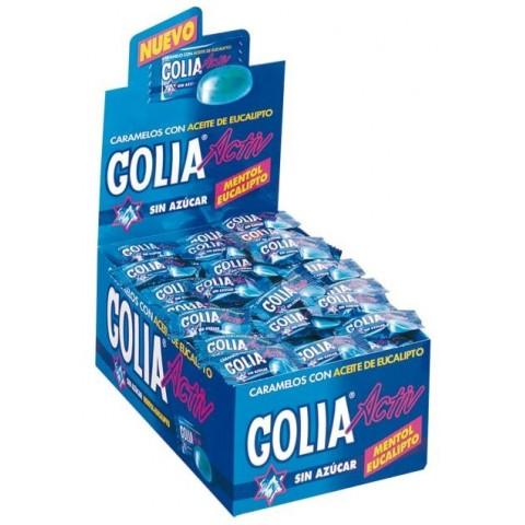 Caramelos golia activ sabor eucalipto mentol 200 unidades.