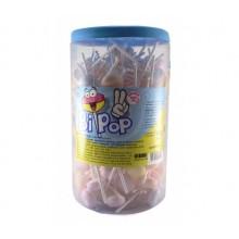 Bipop caramelo dextrosa con palo bote 150u.