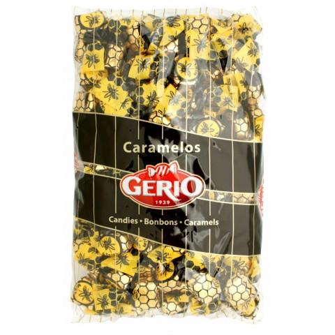 Caramelos Gerio rellenos de miel bolsa 1Kg.