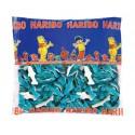 Haribo gummies 250u Blue Dolphins.