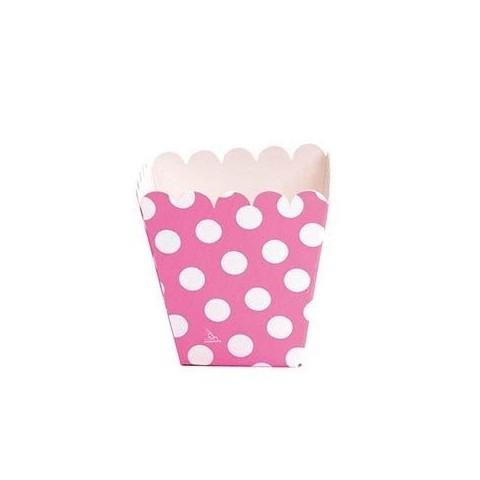 Boxes Cartón Lunares Pink high 12u.