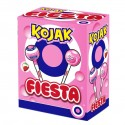 Kojak Party iced strawberry flavor filling gum box 100 units.