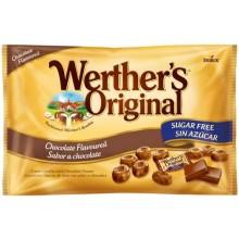 Caramelos Werther's chocolate Sin Azucar bolsa de 1Kg.