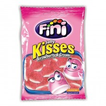 Fini bag Strawberry Kisses 100g sugar 12 units.