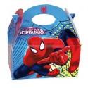 Cajita Cartón para celebraciones Spiderman Ultimate 1u.