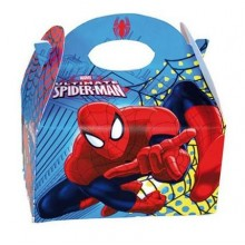 Cardboard box for celebrations 1u Ultimate Spiderman