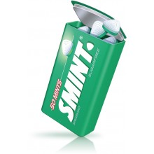 Peppermint flavor mints Smint tin metal case 12 boxes.