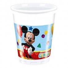 Vasos Mickey Club House 8u.