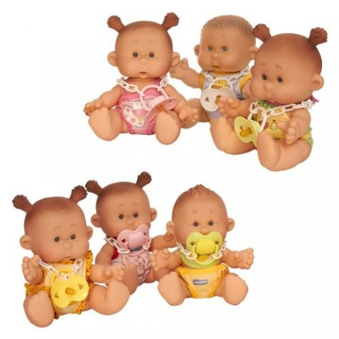 Scented baby boy dolls made in Spain 1 unit.