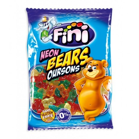 Bears 100g bag neon Fini 12 units.