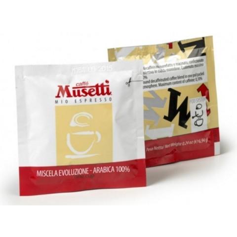 Evoluzione coffee pods Musetti case 150 units.