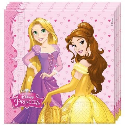 Princess napkins 20u.