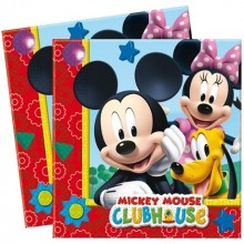 Servilletas Mickey Club House 20u.