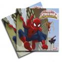 Spiderman napkins 20u.