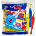 "Balloons ""rice"" with matching color rubber 50u."