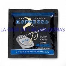 Café Musetti Descafeinado monodosis estuche 24 unidades.
