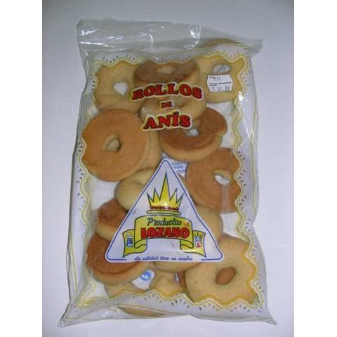 Rollos de anís de Lozano caja con 6 bolsas de 400 grs.