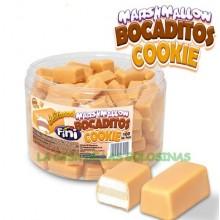 Bocaditos Marshmallow sabor Cookie Fini 100u.