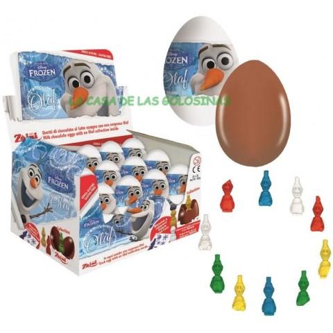 Huevos de chocolate Olaf 24 unidades.