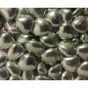 Peladillas color plata rellenas de chocolate bolsa 1Kg.