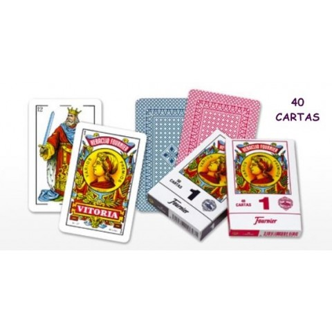 Baraja Naipes Español Nº1 50 cartas 1u.