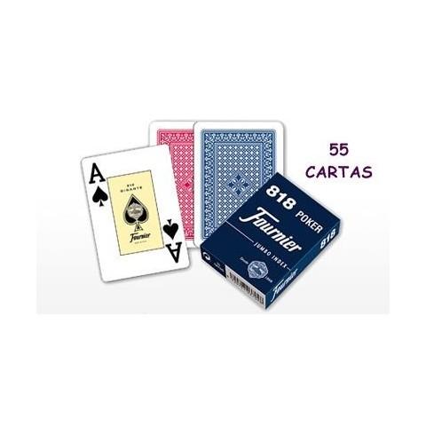 Baraja Naipes Poker Español Nº211 50 cartas plastificado 1u.