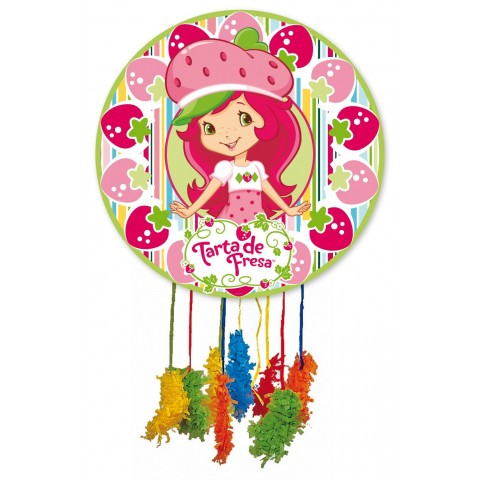 Piñata Mediana Tarta de Fresa.