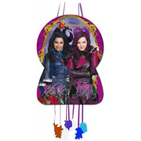 Piñata Grande Descendants Disney.