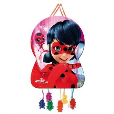 Piñata Grande Ladybug 1u.