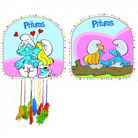 Piñata de Los Pitufos