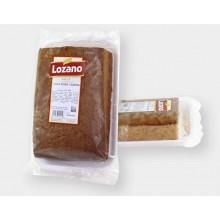 Lozano coca-boba sponge cake 0,5 kg. box of 9 packages.