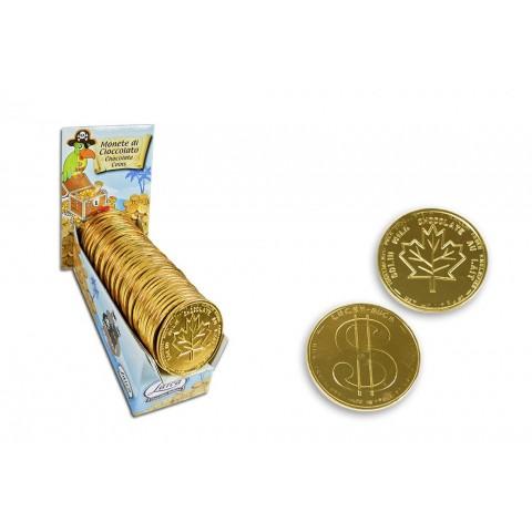 Monedas chocolate grandes 67mm 40u.