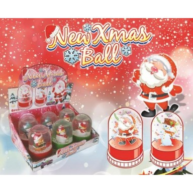 Juguete de navidad Xmas Ball 6u.