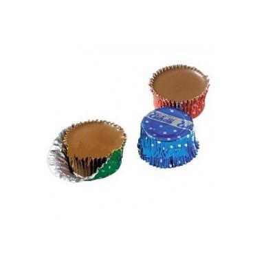 Bombon en capsulas de chocolate 200 unidades.