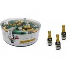 Small champagne bottles chocolate 60 units.