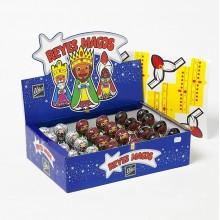 """Reyes Magos de chocolate """"UÑA"""" expositor 24 unidades."""
