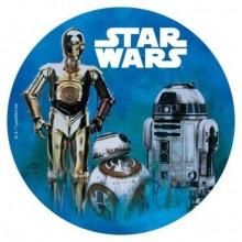 Oblea Impresa Star Wars 20 cm. 1u.