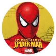 Oblea Impresa Spiderman 20 cm. 1u.