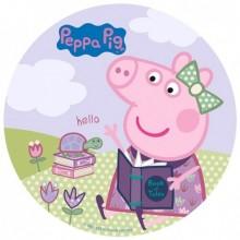 Oblea Impresa Peppa Pig 20 cm. 1u.