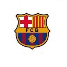 Oblea Impresa Barça 20 cm. 1u.