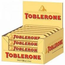 Toblerone leche 24u. x 50g.