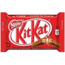 Kit Kat chocolate bar.