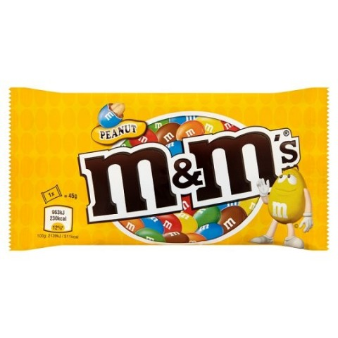 M&m's cacahuete 24 bolsitas.