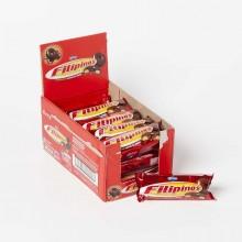 Filipinos Black Chocolate 15 packs 75g format.