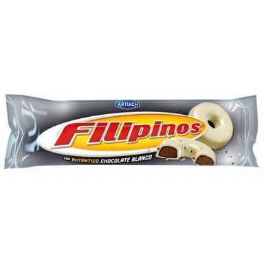 Filipinos Chocolate Blanco formato 15 paquetes de 75g.