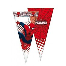 Bolsa cono 10u Spiderman 20x40cm.
