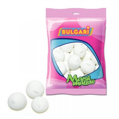 Esponjas bulgari bolas blancas 100 unidades.